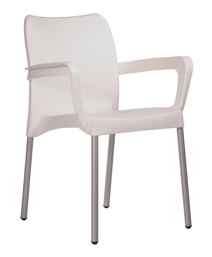 CAFE CHAIR BLACK  WITH ARMS OR RED OR ORANGE OR SAHARA OR WHITE OR TURQ (EXCLUDES DELIVERY OUTSIDE GAUTENG)