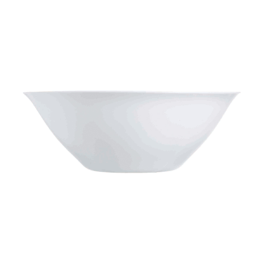 (6 PACK) CONSOL OPAL SALAD BOWL LARGE 270MM:D