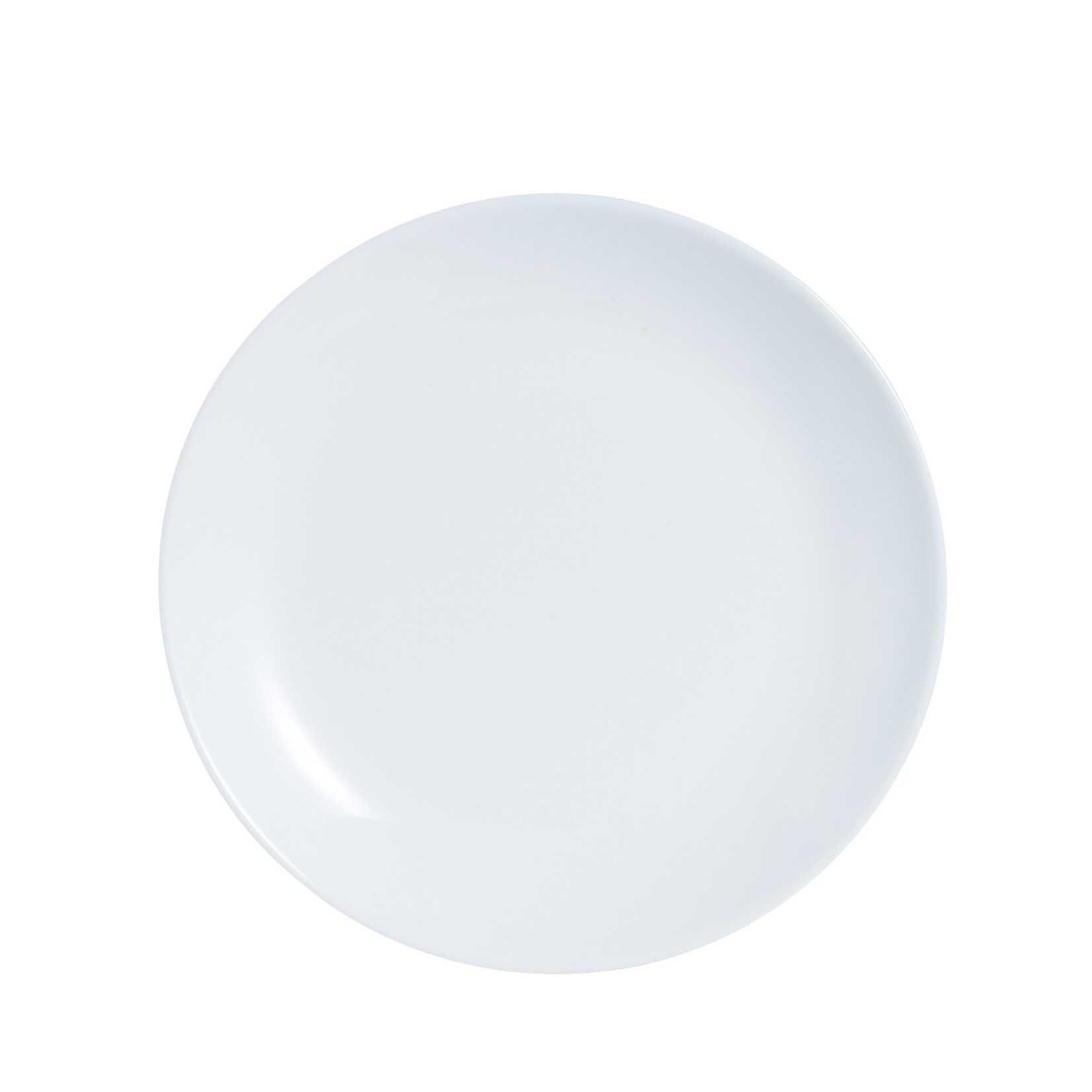 (24 PACK) CONSOL OPAL SIDE PLATE (190MM:D)