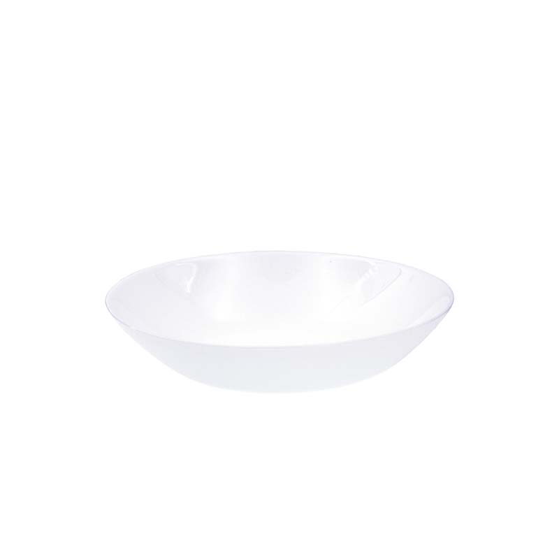(6 PACK) CONSOL OPAL RIMLESS SOUP BOWL (200MM:D)