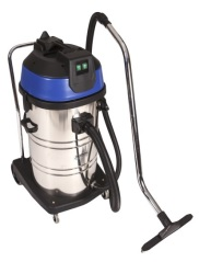 HL80/3 - 80L STAINLESS STEEL WET/DRY VACUUM CLEANER - 3 MOTORS