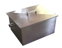 ANOX GREASE TRAP 304 GRADE STAINLESS STEEL 500X400X300MM