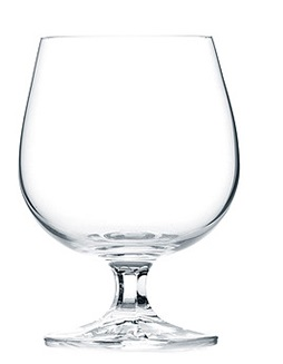 COGNAC CONCERTO CRYSTAL GLASS 370ML (PACK OF 6)