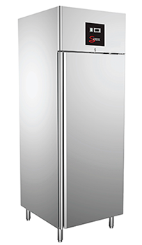 COMMERCIAL KITCHEN FREEZER - SINGLE DOOR - ST/STEEL   (DELIVERY IN GAUTEN & WESTERN CAPE ONLY)