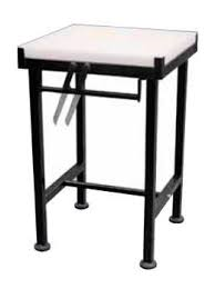 BUTCHER BLOCK AND STAND PE - 610 x 610mm