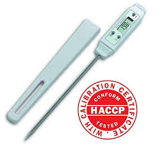 THERMOMETER DIGITAL HACCP WITH ROTARY PROBE -50°C to 300°C HACCP DIGITAL THERMOMETER WITH ROTARY PROBE