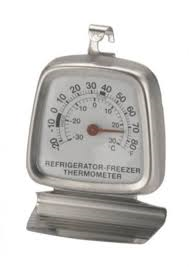 THERMOMETER FRIDGE/FREEZER (-30 to +30 DEG)