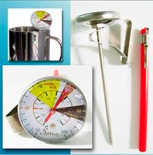 THERMOMETER COFFEE - 125mm (50 to 100 DEG)