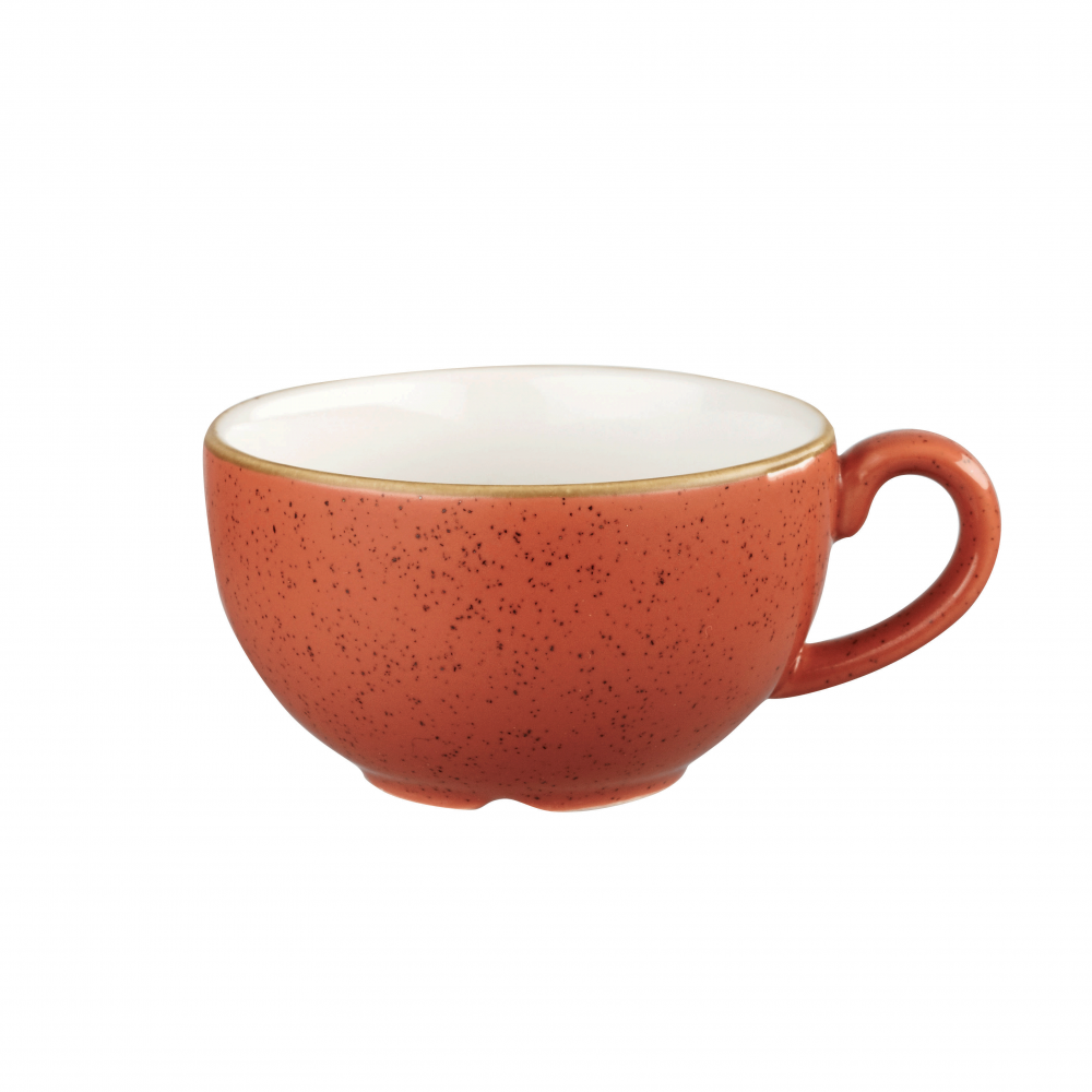 CAPPUCCINO CUP - 22.7cl- SPICED ORANGE   (PACK OF 6)
