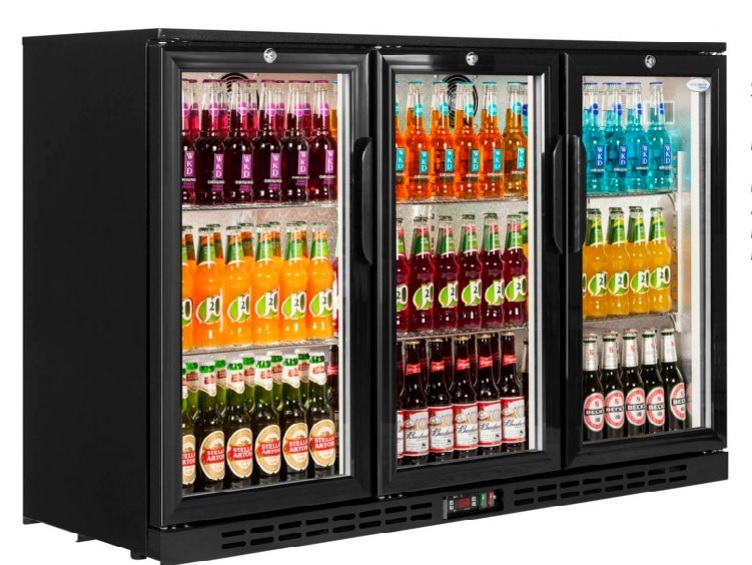 BACK BAR COOLER 3 DOOR
