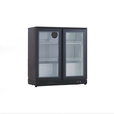 PACIFIC BEER COOLER 2 DOOR 900MM BEER FRIDGE 900X 505X 890H HINGED DOOR