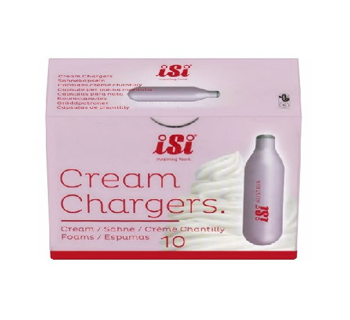 CREAM CHARGERS (BOX OF 10)
