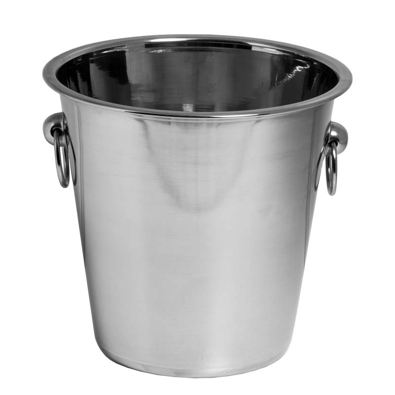 BAR BUTLER ICE BUCKET WITH HANDLES S/STEEL (4L)