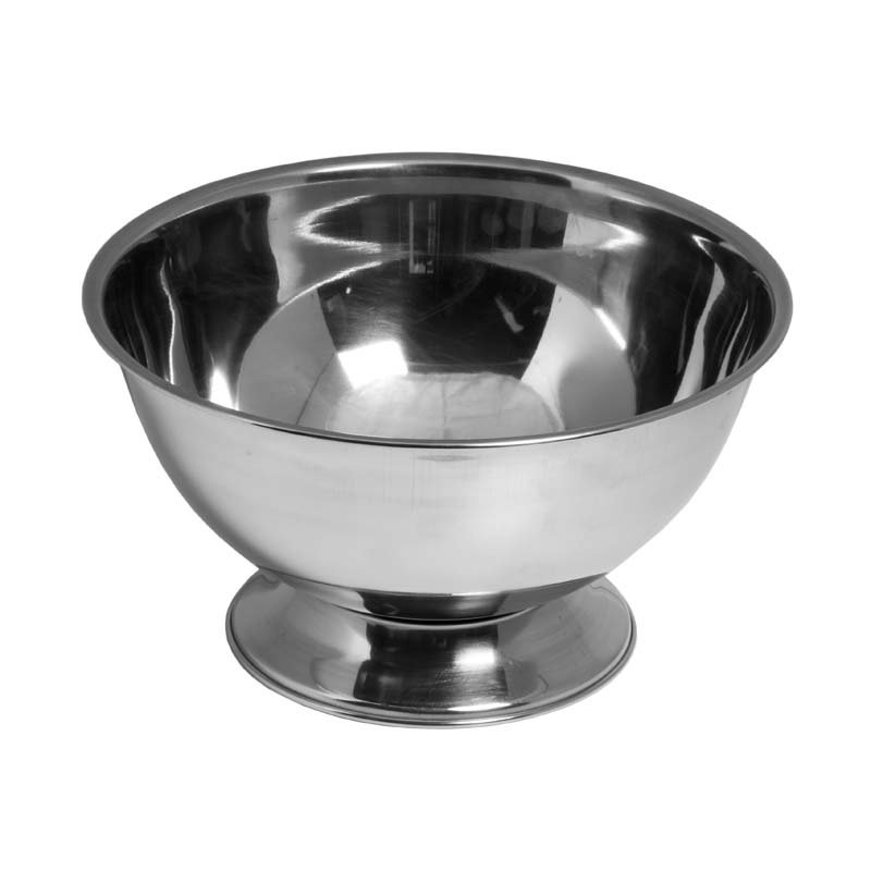 BAR BUTLER FOOTED CHAMPAGNE/ICE BOWL WITHOUT HANDLES S/STEEL (4L) (275MM:D)
