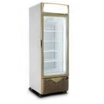 COMMERCIAL UPRIGHT FREEZER 350LT ONE DOOR SNOMASTER