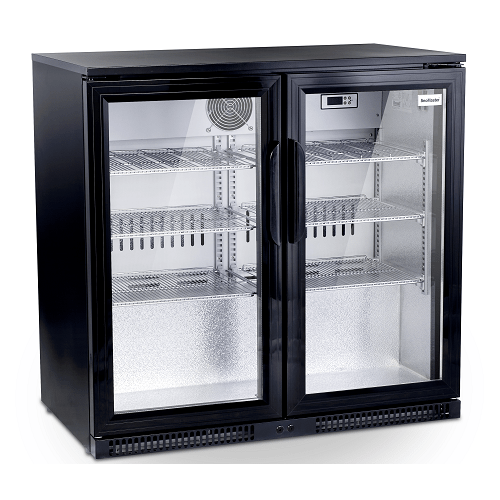 BAR BEVERAGE COOLER 220Ltr TWO DOOR UNDER (EXCLUDES DELIVERY OUTSIDE GAUTENG)