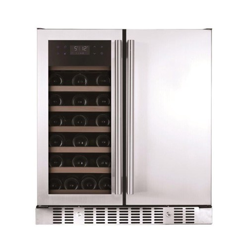 BEVERAGE COOLER SIDE BY SIDE WINE  (PRICE EXCLUDES DELIVERY OUTSIDE GAUTENG)