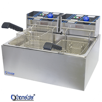 ELECTRIC FRYER 2 X 8LT