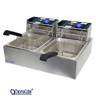 ELECTRIC FRYER 2 x 6 LT