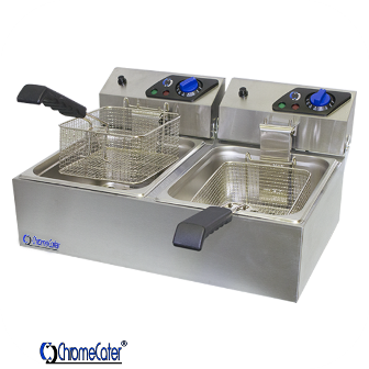 ELECTRIC FRYER 2 X 6LT