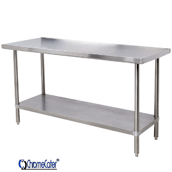 PLAIN STAINLESS STEEL TABLE CC2.4P