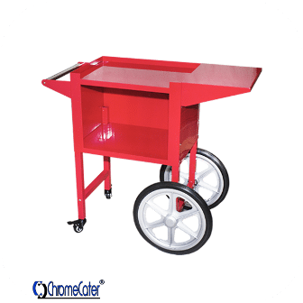 POPCORN CART POP6C RED (PRICE EXCLUDES TRANSPORT OUTSIDE GAUTENG)