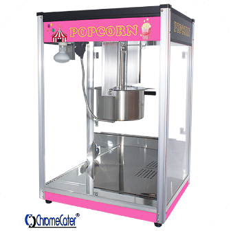 POPCORN MACHINE 16OZ POP16B PINK & BLACK PRICE EXCLUDES TRANPORT COSTS OUTSIDE GAUTENG)