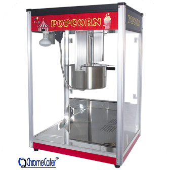POPCORN MACHINE 16OZ POP16B RED & BLACK (PRICE EXCLUDES DELIVERY OUTSIDE GAUTENG)