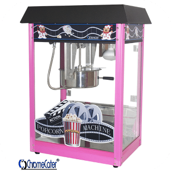 POPCORN MACHINE 8OZ POP6A-B PINK & BLACK (PRICE EXCLUDES DELIVERY OUTSIDE GAUTENG)