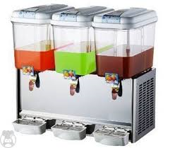 JUICE DISPENSER 3 HEAD (PRICE EXCLUDES TRANSPORT OUTSIDE GAUTENG )