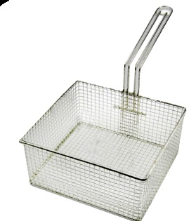 CHIP BASKET FOR 2 X 14LT FRYER