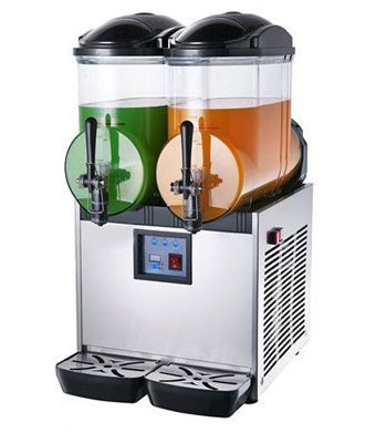 SLUSH PUPPY MACHINE DOUBLE 2 X 15LT TANK (PRICE EXCLUDES TRANSPORT OUTSIDE GAUTENG ) (3-5 DAYS LEAD TIME)
