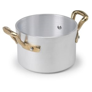 ALUMINUIM TWO HANDLE LITTLE SAUCEPOT CM10 - DIA  (CLEARANCE CPT STORE ONLY)