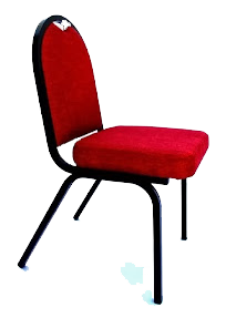 BANQUET CHAIR RED (PRIE EXCLUDES TRANPORT OUTSIDE GAUTENG)