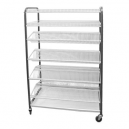 CROCKERY RACK MOBILE - F/STANDING - 830mm (400 PCS)