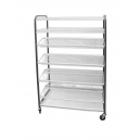 CROCKERY RACK MOBILE - F/STANDING - 1130mm (300PCS)