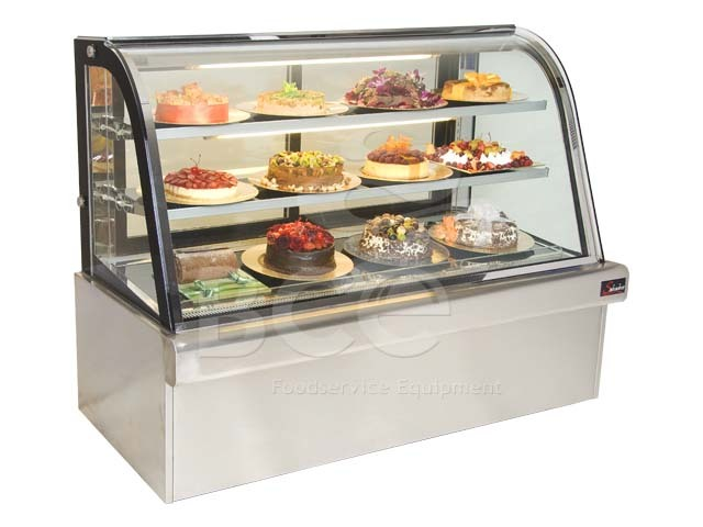 DISPLAY UNIT FRIDGE SALVADORE - F/STAND AZZURO - 1200mm   (DELIVERY IN GAUTENG & WESTERN CAPE ONLY)