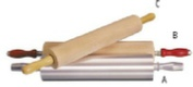 ROLLING PIN WOOD – 300mm