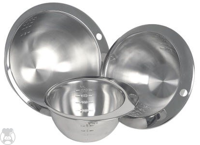 MEASURING BOWL STAINLESS STEEL ROUND NOTCHED 1200ML