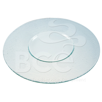 GLASS SHOW PLATE - STARTER / DESSERT 32cm (PACK OF 3)