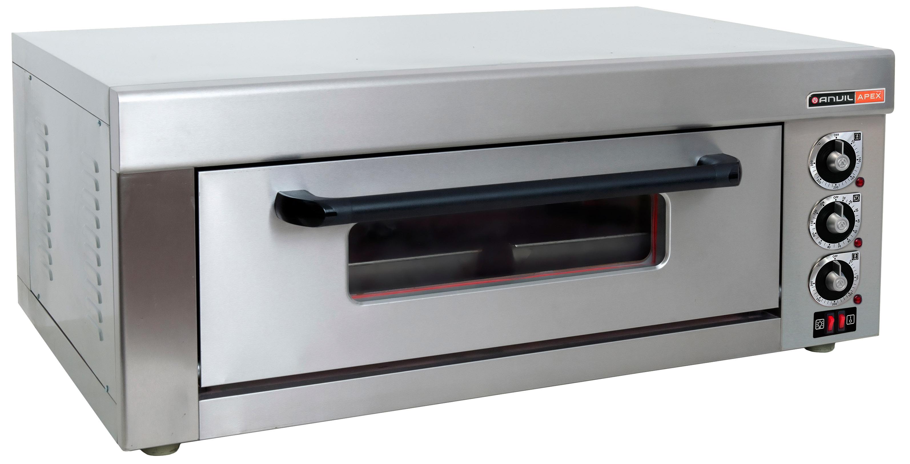DECK OVEN ANVIL - 2 TRAY - SINGLE DECK (can be wired as 1 or 3 PHASE by a certified electrician)