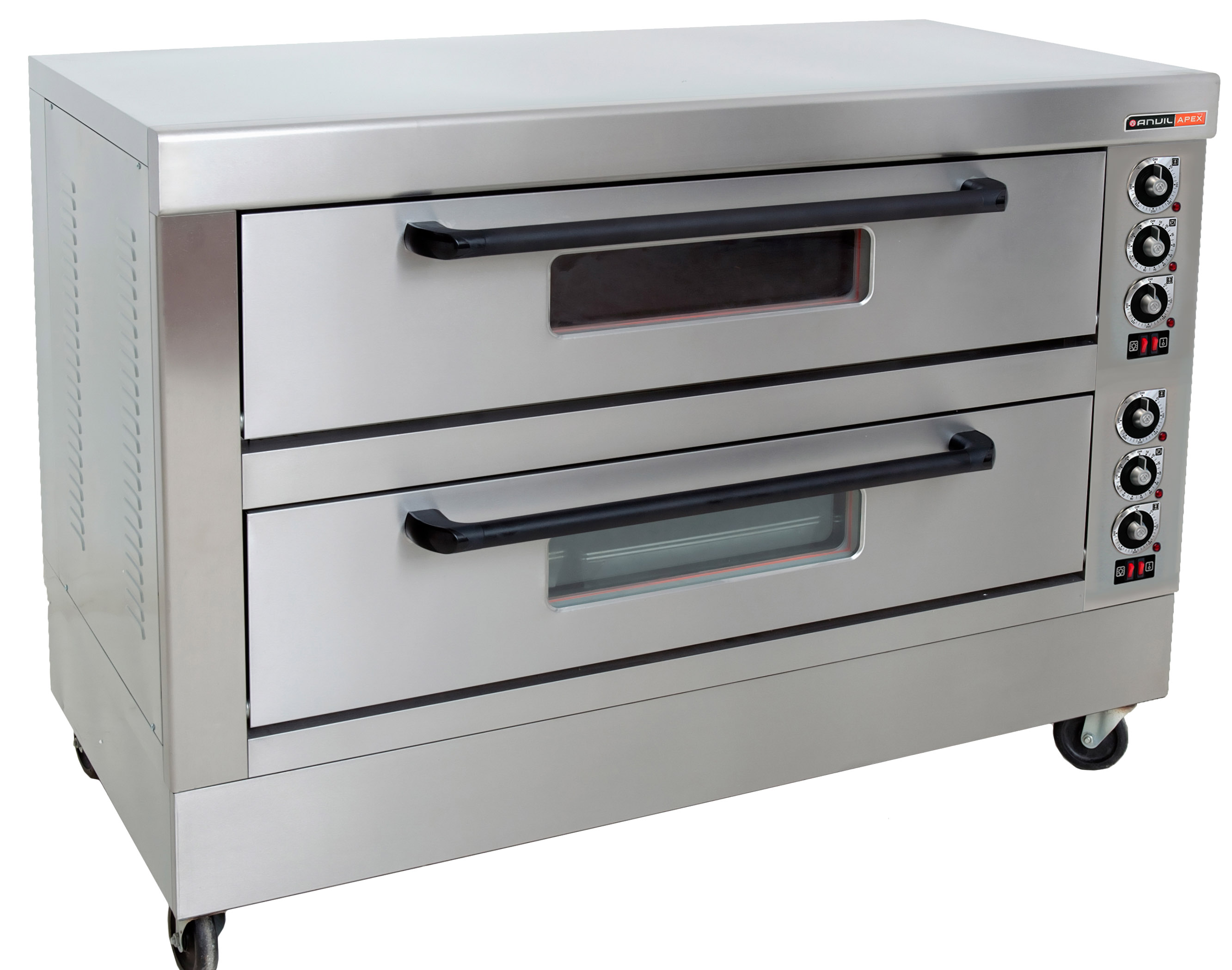 DECK OVEN ANVIL - 6 TRAY - DOUBLE DECK  (3 PHASE - 50Hz)