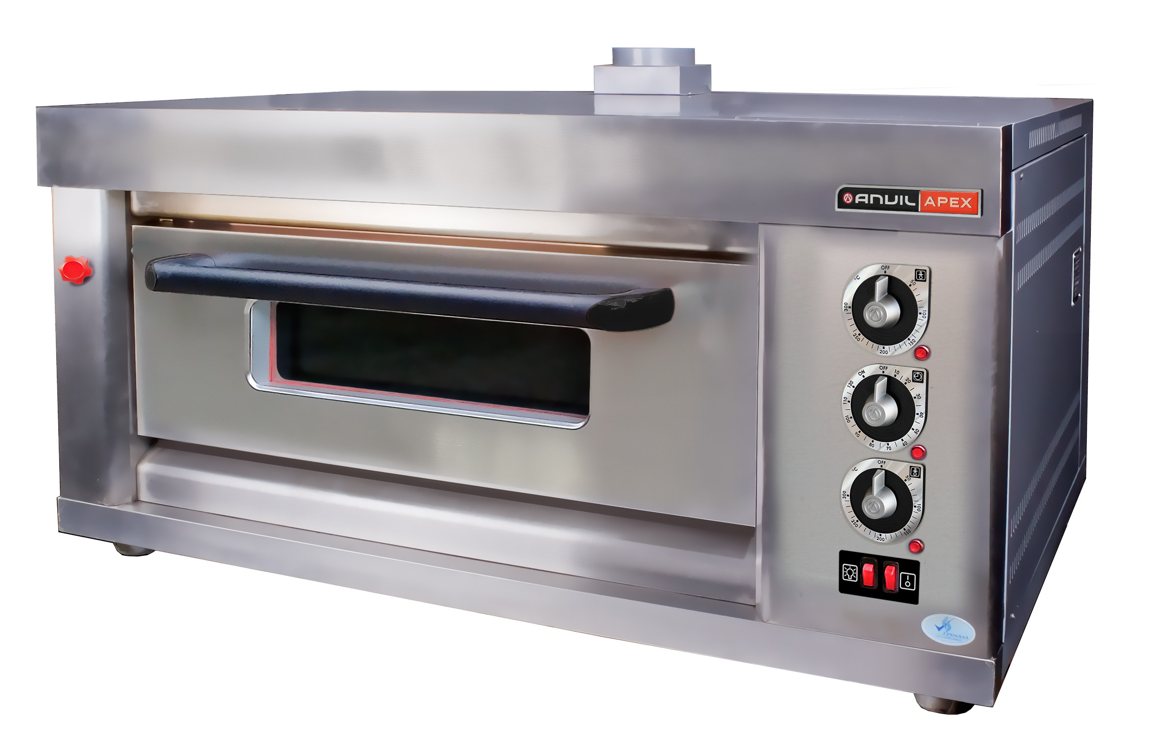 DECK OVEN ANVIL - GAS - 2 TRAY - SINGLE (3 PHASE - 50Hz)