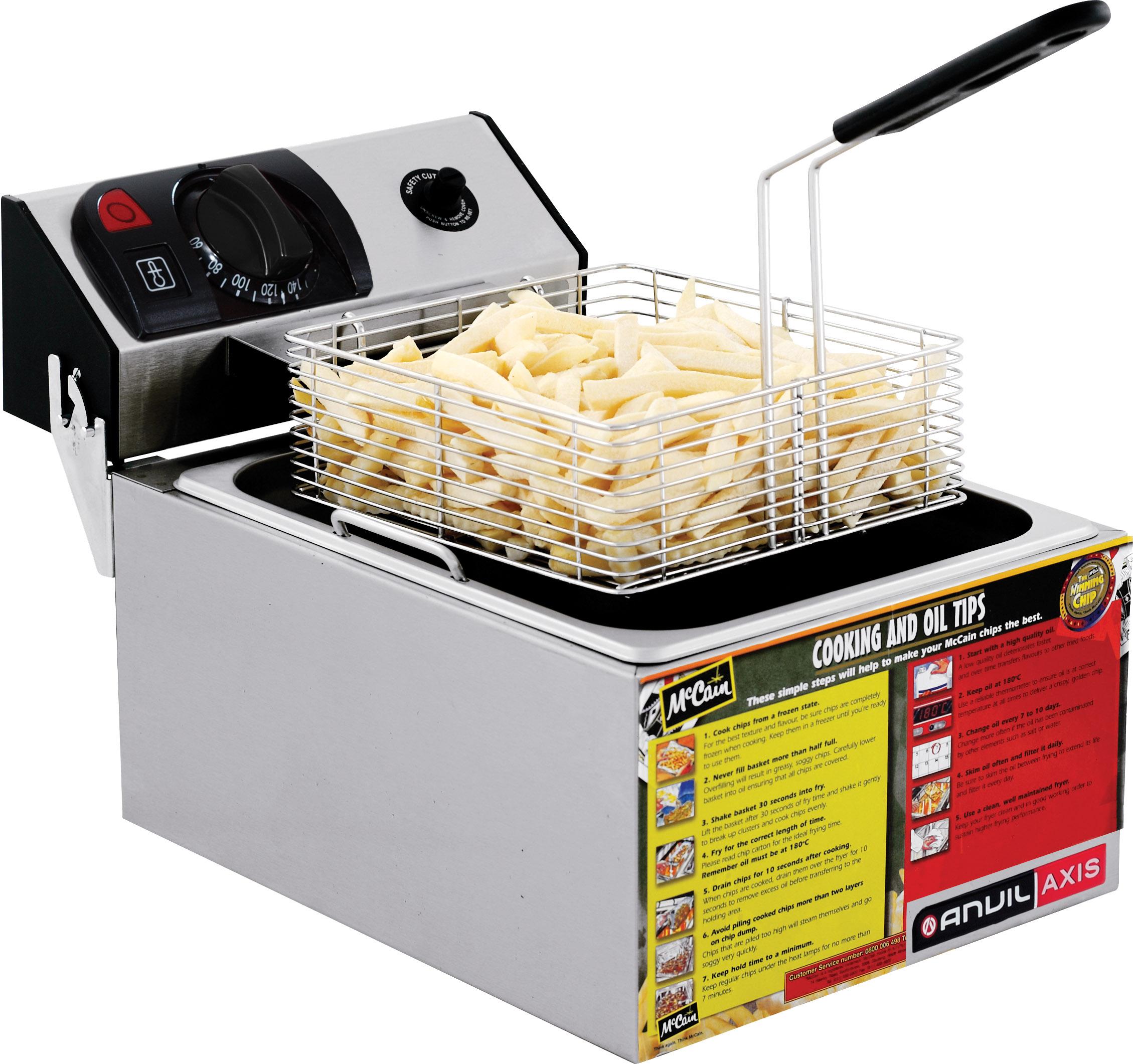 Fryers fish fryer anvil frozen chip mccains single for Fish fryer basket