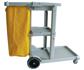 JANITOR TROLLEY PLASTIC - 1140 x 510 x 980mm