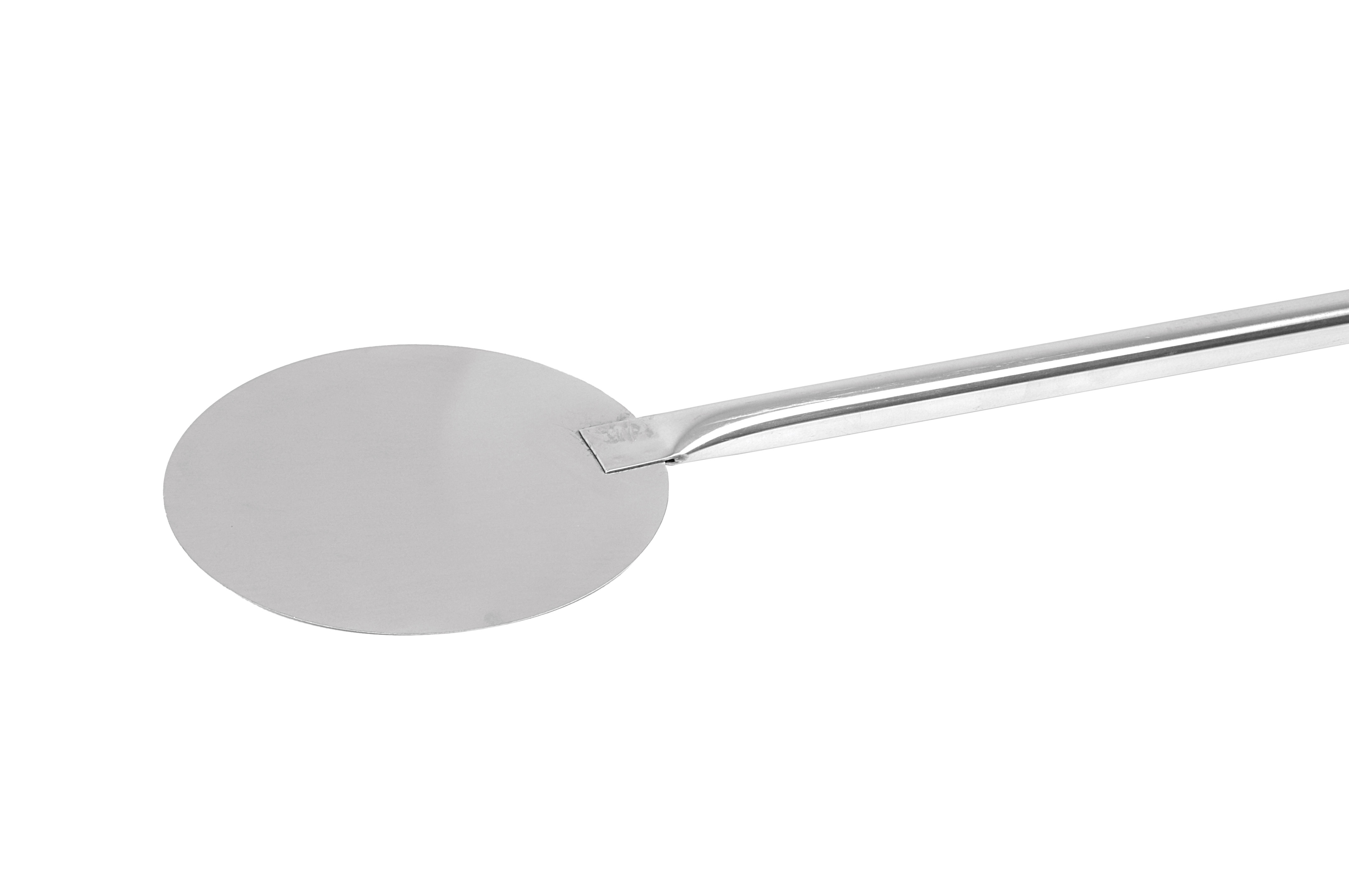 PIZZA SCOOP S/STEEL- ROUND HEAD 1500MM X 215 MM