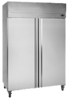 SWING DOOR FREEZER 976LT -2010 X 1340 X 710  (SOLID DOOR) -S/S INNER AND OUTER SIDES (DOUBLE DOORS)
